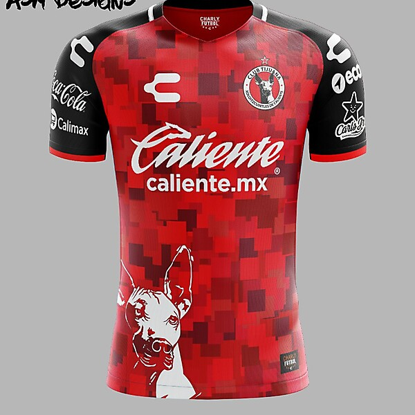 Club Tijuana 2018 Charly Home Kit