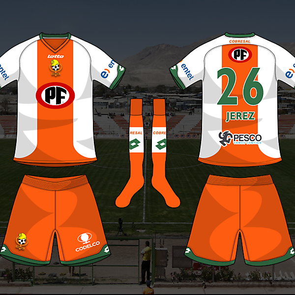Cobresal - home kit