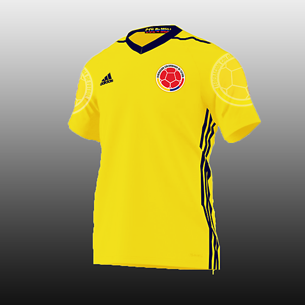 Colombia Football Kits Home 2017