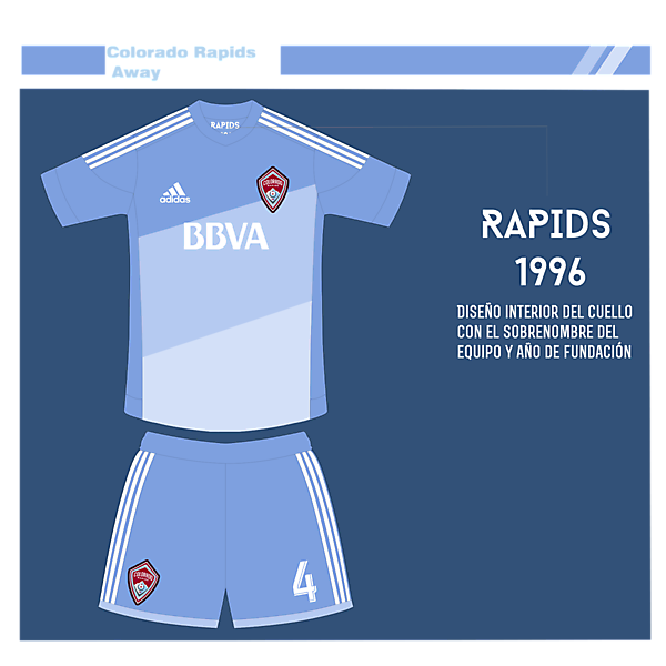 Colorado Rapids Away