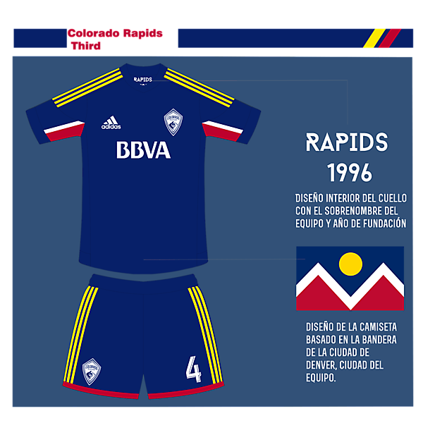 Colorado Rapids Third