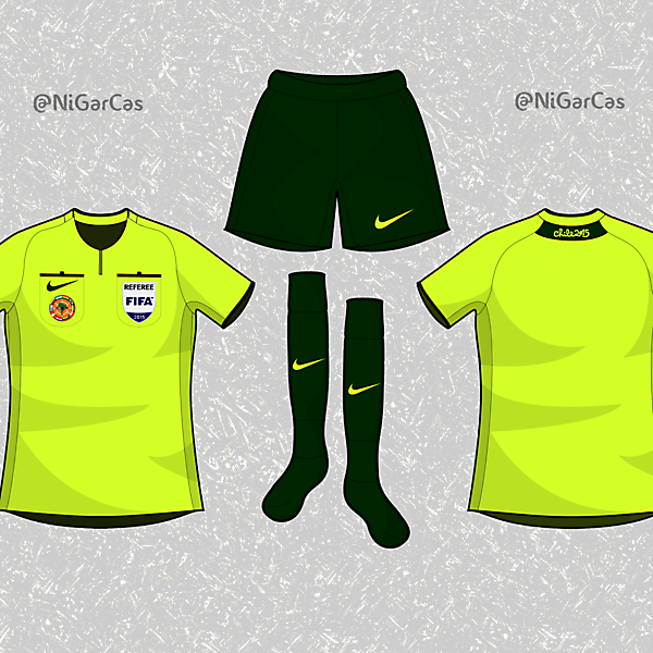 Copa América 2015 Referee kit