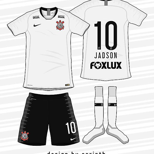 Corinthians 2018-19 Home Kit (According to leaks)