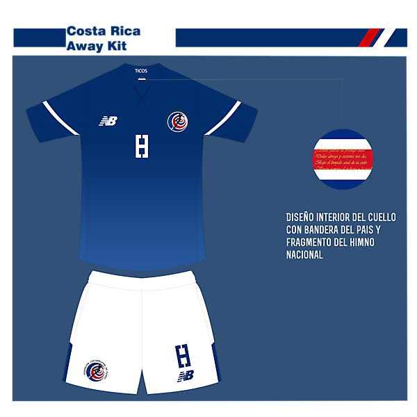Costa Rica Away-New Blance