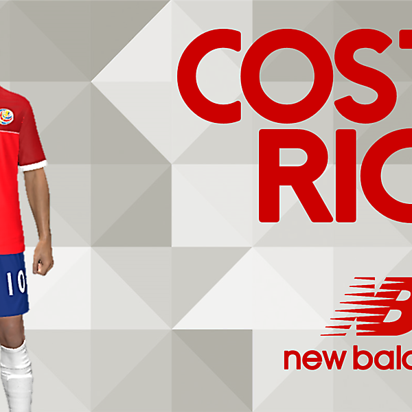 COSTA RICA new balance kit Home (CONCEPT)