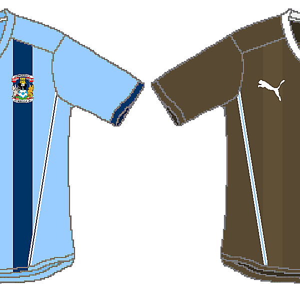 Coventry City Puma Home and Away