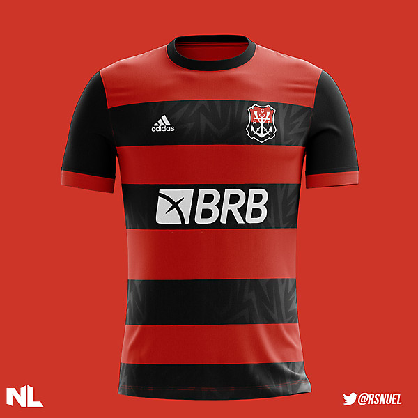 C.R Flamengo - Home Kit Concept