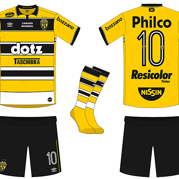 Criciúma E.C. Home Kit