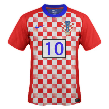 Croatia 2015 Home Kit