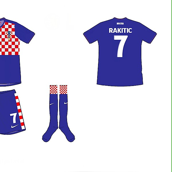 Croatia Away Kit