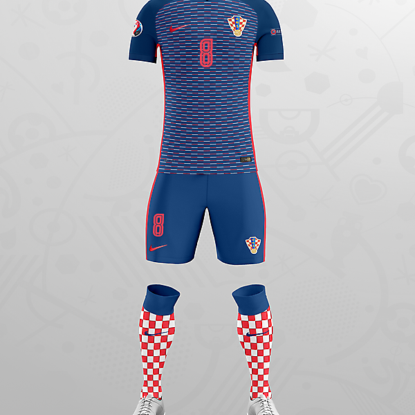 CROATIA EURO 16 AWAY