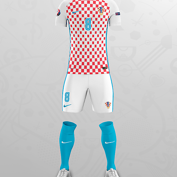CROATIA EURO 16 HOME