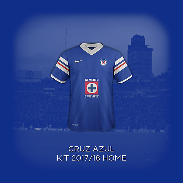 Cruz Azul 2018 Concept Home Kit