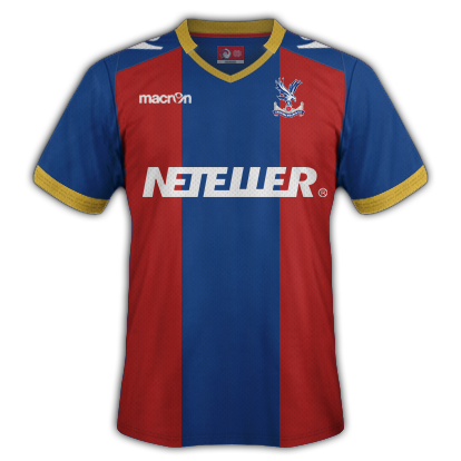 Crystal Palace Home Kit 2015-16