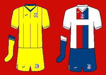 Nike Crystal Palace Kits