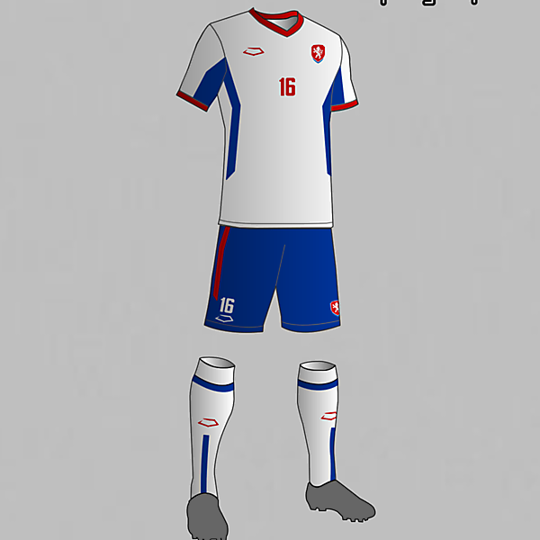 Czech Republic National Football Team Away Kit 2016