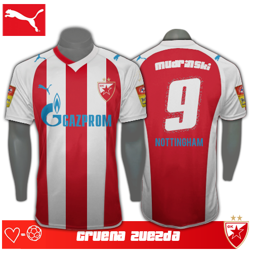 Red Star Belgrade Kit 2013/14