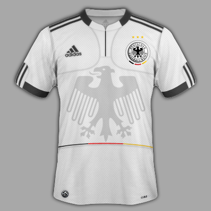 Deutschland Home, Away and Special third