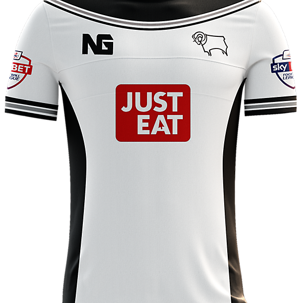 Derby County Home Jersey concept