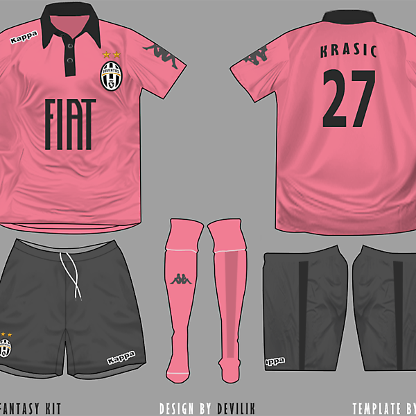 Juventus Kappa away