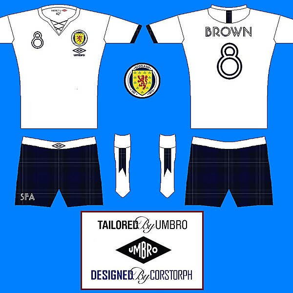 Scotland Jacobean Away Kit