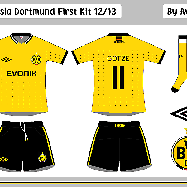 Borrusia Dortmund First & Change Kits