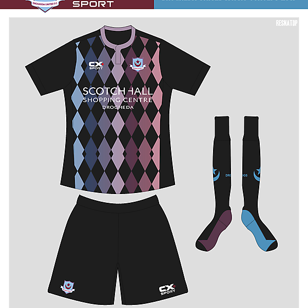 Drogheda United Away 2017