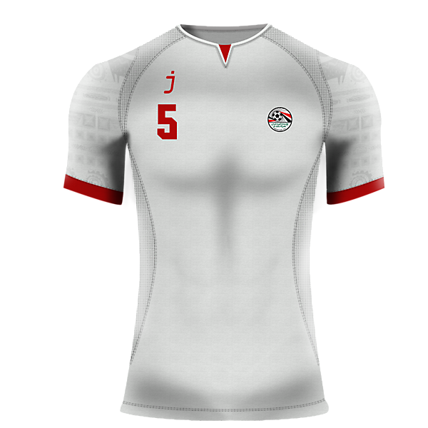 Egypt away jersey by J-sports