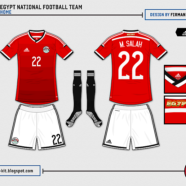 Egypt Home - 2014 WC Competition