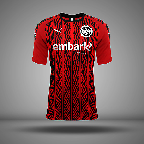 Eintracht Frankfurt - Home Kit