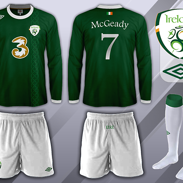 Republic of Ireland - Home