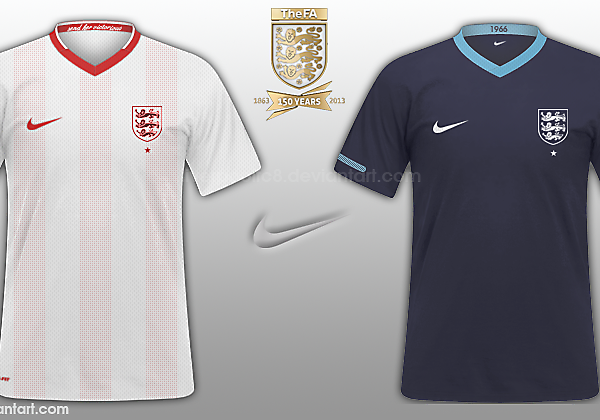 England 2014 Kit Mock