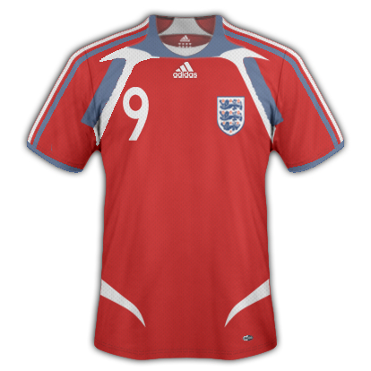 My England 2011-13 away kit