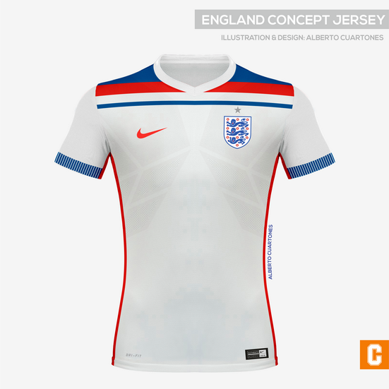 England Concept Jersey