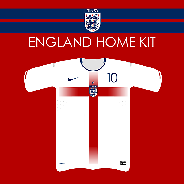 England Fantasy Home Kit