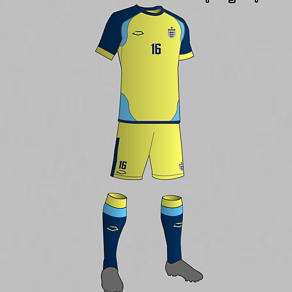 England National Football Team Third Kit 2016