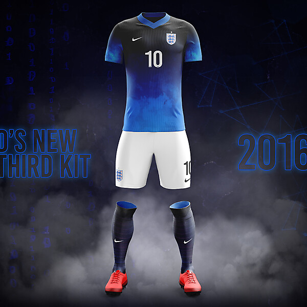 England Third Kit 2016/17