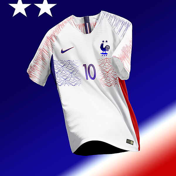 Equipe de France Away Kit Concept