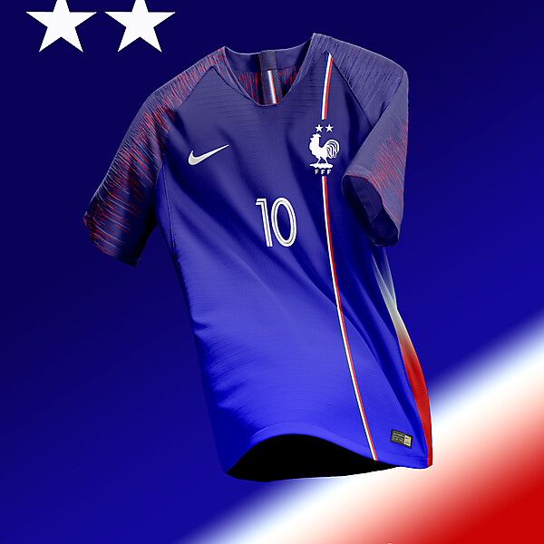Equipe de France Home Kit Concept