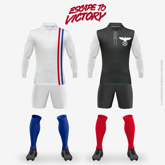 «Escape To Victory» Kits