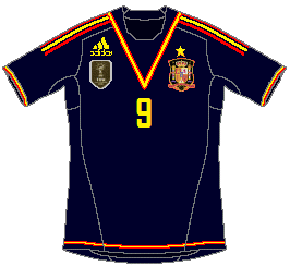 Spain (Confederations Cup) Adidas Away