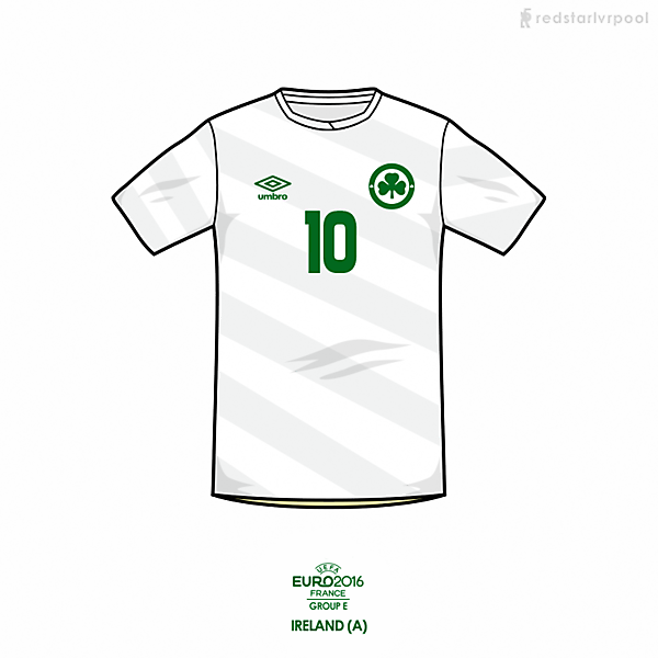 Euro 2016 - Umbro Ireland Away