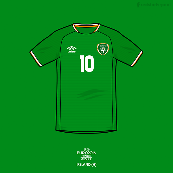 Euro 2016 - Umbro Ireland Home