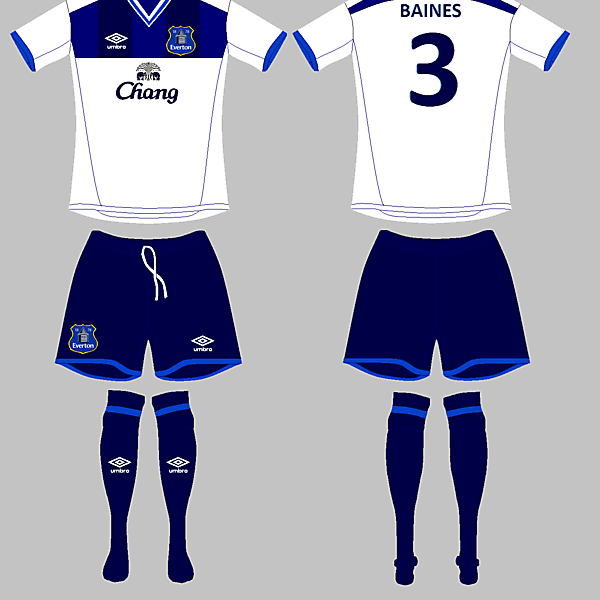 Everton Away / Umbro