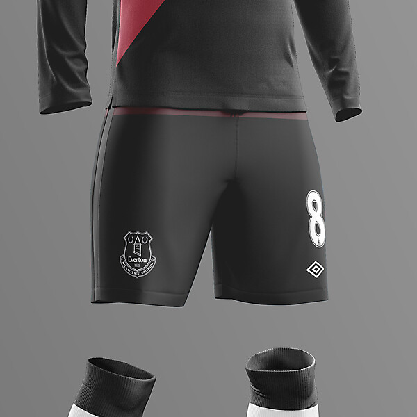 Everton Away (Black Watch kit)