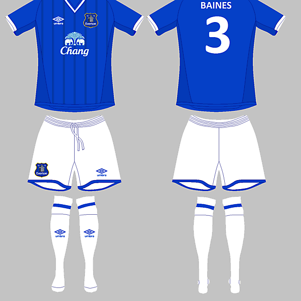 Everton Home / Umbro