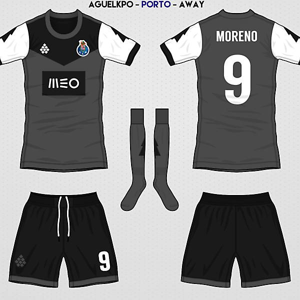 Fantasy FC Porto Away Kit