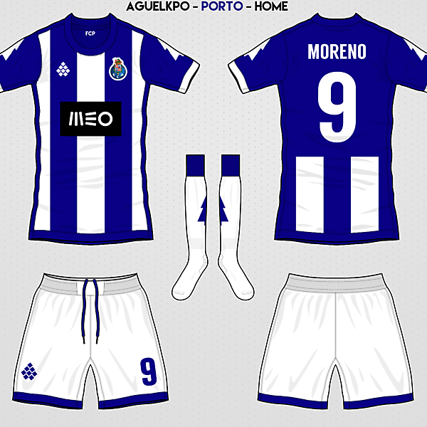 Fantasy FC Porto Home Kit