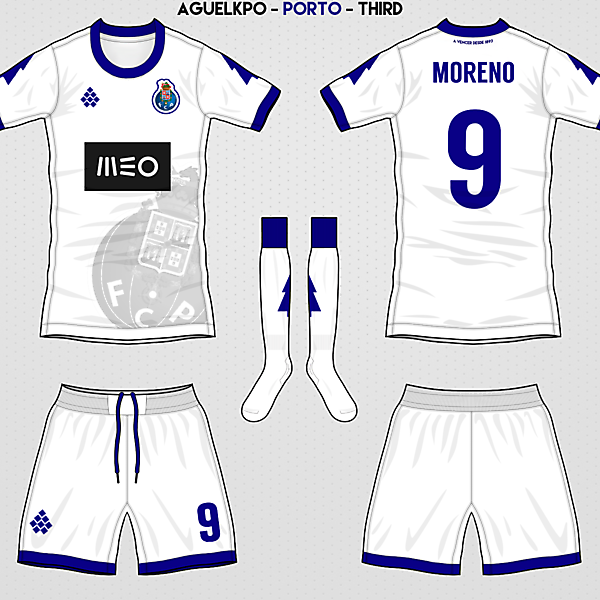 Fantasy FC Porto Third Kit