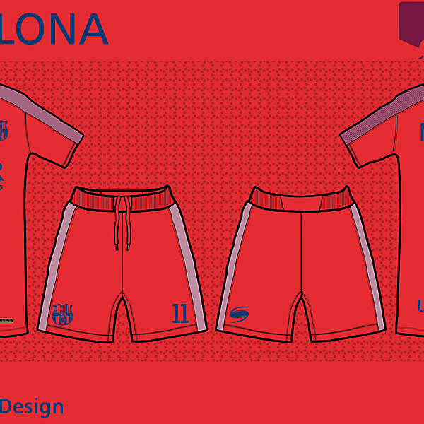 FC Barcelona - Third kit by Storm